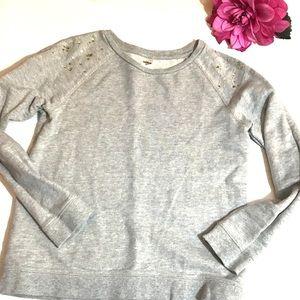 Osh Kosh Gray Embellished Sweatshirt